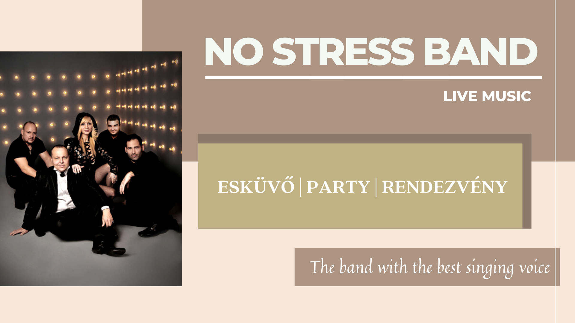 NO STRESS Band - LIVE music